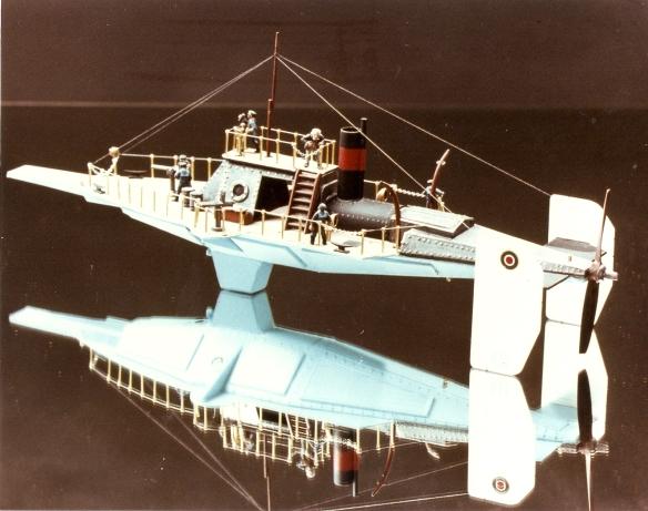 HMS Aphid Aerial Gunboat