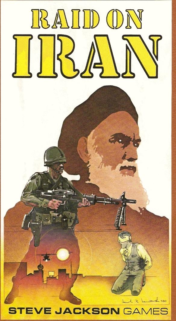 Raid on Iran Cover Art