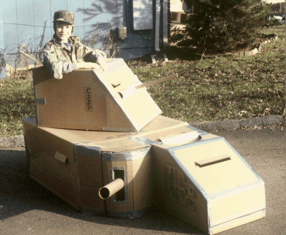 Thank You, Albert Jones  (the inventor of cardboard!)