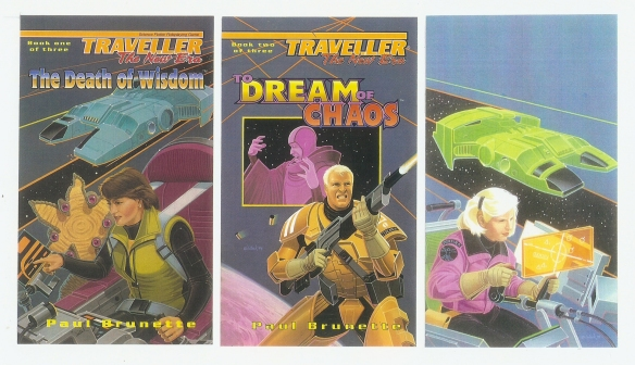 Traveller: The New Era Trilogy Covers