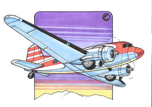 Cordova DC3 art