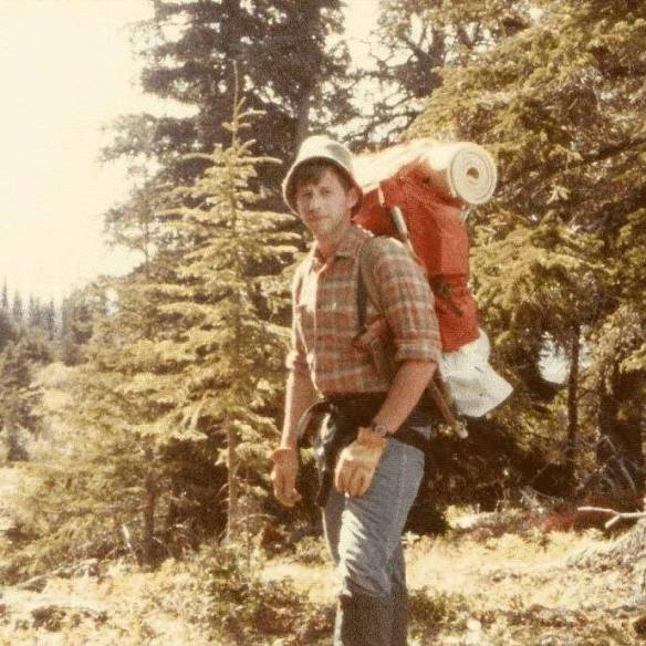 David in Hiking Order Hideout Hill 1982