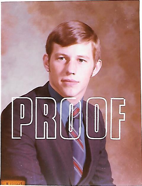 Senior Picture 1970