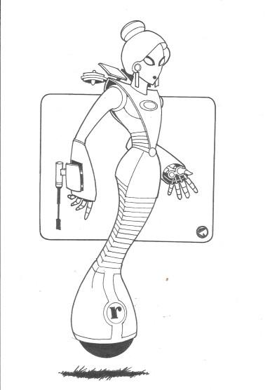2019-12-01 Roberta the Robot