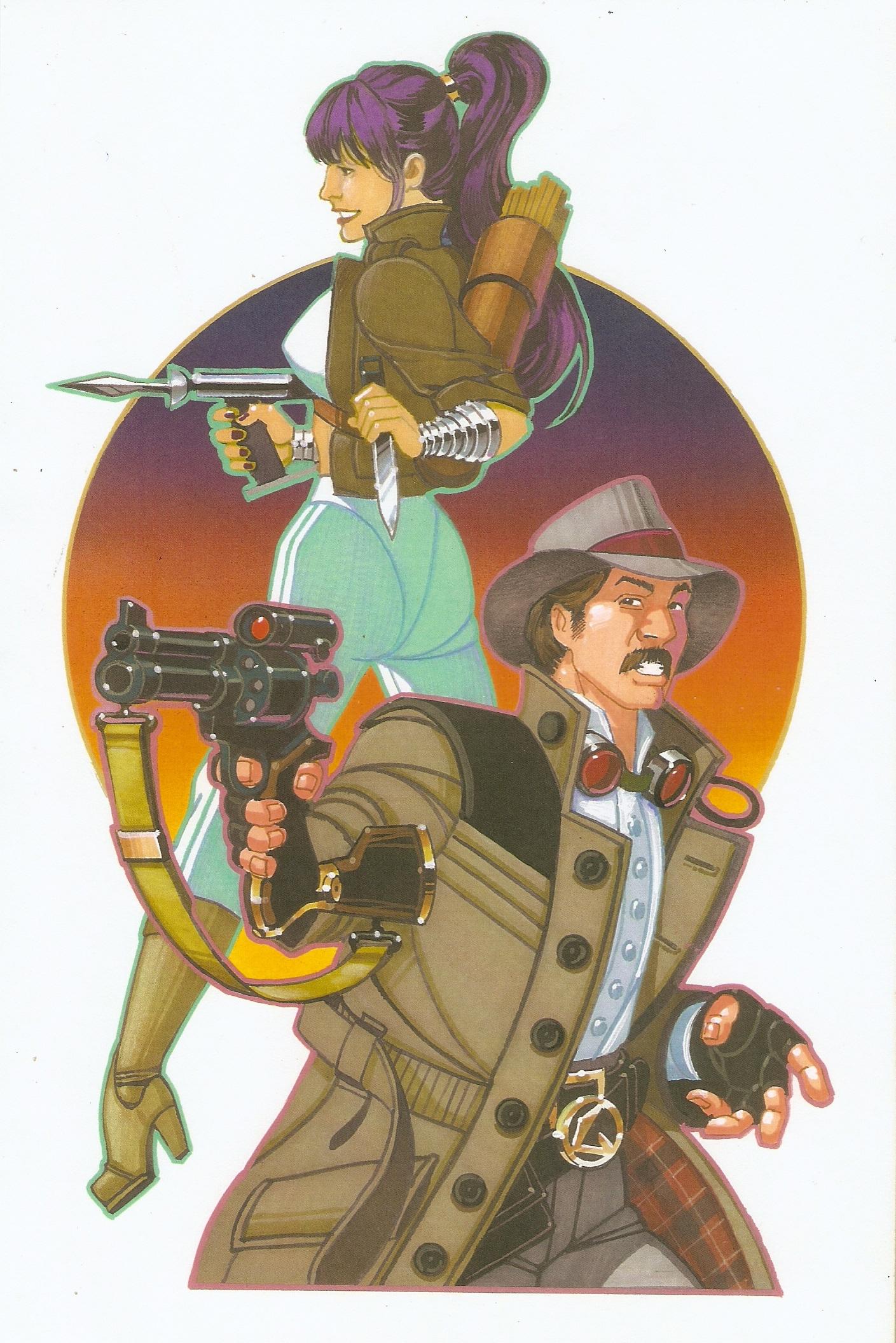2012-04-02 Gun Kingdom Cover Illustration